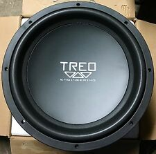"New Treo Engineering TE1544 15"" dual 4 ohm Competition subwoofer,Rare,NIB,USA,"