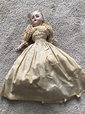 Antique Simon & Halbig Dolly Bisque Doll Composition Body S&H 1040 Genuine