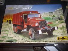 """HELLER  GMC """"pompier"""" plastic MODEL 1/35"""