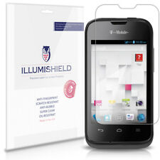 iLLumiShield Phone Screen Protector w Anti-Bubble/Print 3x for Huawei Prism II 2