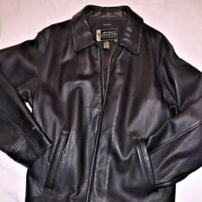EDDIE BAUER WOMEN'S LEATHER STINE JACKET, Size LG