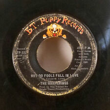 """The Happenings What Kind of Fools Fall in Love 7"""" 45 BT Puppy records GD"""