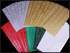 edle Sticker Bögen - versch. Motive und Farben - Weihnachten Advent Basteln