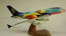 A-380 Singapore Tropical Livery A380 Airplane Desk Wood Model Big New