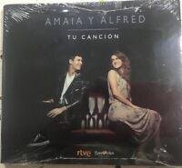 AMAIA Y ALFRED TU CANCION DIGIPACK CD SINGLE NUEVO PRECINTO CONTEST 2018 OT RTVE