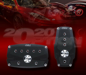 TUNER AUTOMATIC BRAKE GAS PEDAL PADS FOR 300C CHALLENGER CHARGER MUSTANG MKZ