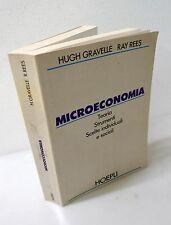 Gravelle/Rees,MICROECONOMIA.Teoria,Strumenti,Scelte,1992 Hoepli[economia