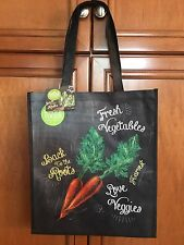 "(1)  Whole Foods  (Large)  ""Back to the Roots""  Reusable  Grocery Tote Bag   NWT"