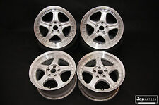 "JapNation RAYS VOLK RACING GROUP AV 17"" 9J 5x114.3 JDM ALLOY WHEELS RIMS"