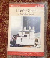 Husqvarna Viking Huskylock S25 User's Guide For Serger Overlock Machine