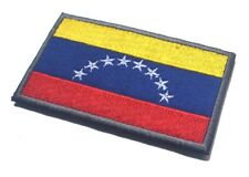 VENEZUELA NATIONAL FLAG SEW EMBROIDERED PATCH