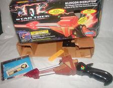 Star Trek Generations Klingon Disruptor Playmates phaser  w box  114