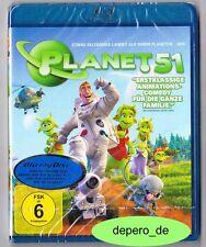 """""""PLANET 51"""" - Animations Komödie - BLU RAY - neu/OVP"""