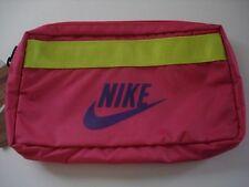 Nike Adult Unisex Lightweight Pouch Bag Medium Vivid Pink/Club Purple New