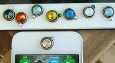 Crystal Diamond Bling Home Button Sticker For Apple iPhone 6 5S 4S iPad Air iPod