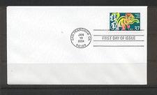 USA 2004 YO Monkey/Greetings 1v FDC (n17651)