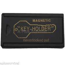 Magnetic Hide a Key Holder for Home Cars Trucks Office - Survival Emergency
