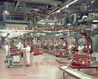 """HOLDEN RED MOTOR PRODUCTION LINE 20"""" x 16"""" 51 x 41 CM POSTER PRINT PICTURE x"""