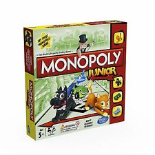 Hasbro Gaming Monopoly Junior Board Game (Ages 5+) *BRAND NEW*