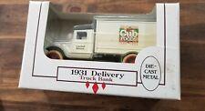 ERTL 1931 DELIVERY TRUCK DIE CAST BANK ADVERTISING CUB FOODS