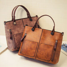 Crossbody Bag Women Leather Handbag Shoulder Ladies Purse Messenger Satchel  Lot