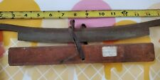 "Vintage Rugg Mfg Co. draw shave woodworking tool 10"" Sharp blade"