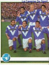 050 SQUADRA TEAM 1/2 ITALIA BRESCIA CALCIO STICKER CALCIATORI 2002 PANINI