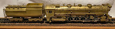 Brass Central Vermont 2-10-4 Steam T-3a HO Scale PFM Unpainted
