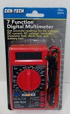 Cen Tech Multimeter Digital 7 Function