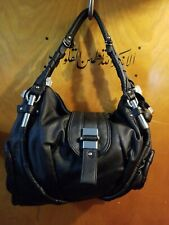Susen Aopiya Women's Leather Hand & Shoulder Bag -black large - NEW