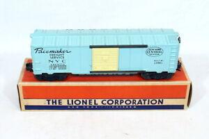 Scarce Postwar Lionel 6464-510 New York Central Boxcar (Girls Set)~All Orig~w/OB