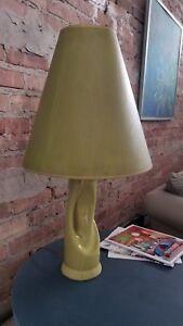 Vintage  Mid Century Modern Lamp w/ Shade