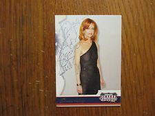 "SWOOSIE  KURTZ(""Mike and Molly/Sisters/Pushing Daisies"")Signed 2008 Donruss Card"