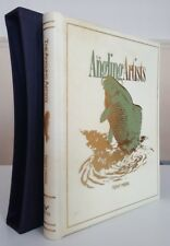 VELLUM! Angling Artists Tony Meers Stephen Harper Signed fishing book carp pike