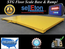 """NEW Industrial 48"""" x 48"""" Floor Scale with ramp 10000 lbs x 1 lb digital pallet"""