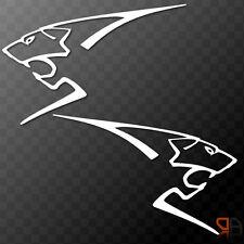 2x Peugeot Sport Lion Vinyl Decals Sticker 106 205 206 306 107 108 207 208 RCZ