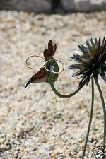 Exotischer Fantasievogel aus  Metall extravagante Deko Haus Garten Geschenkidee
