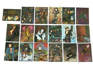 1995 CYBER FORCE ALL-CHROMIUM BASE 72 CARD SET TOP COW MARC SILVESTRI RIPCLAW!