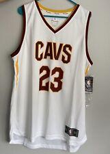 NWT Fanatics FastBreak Cleveland Cavs NBA LeBron James #23 Home Jersey Size Larg