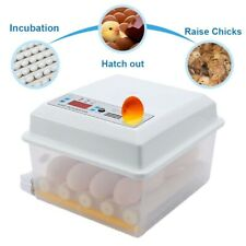 16 Eggs Incubator Digital Poultry Hatching Eggs Automatic Chicken Duck Hatcher