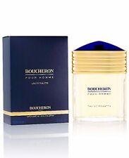 Boucheron Pour Homme 3.3 oz Men 3.4 edt Eau de Toilette Cologne Spray Sealed