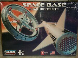 Lindberg Space Base & Satellite Explorer - Factory Sealed