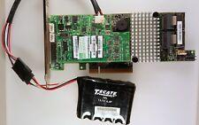 LSI MegaRAID SAS9271-8i 1GB CACHECADE PRO 6Gb/s SAS2 SATA3 RAID 5,6 CVPM02+CAP