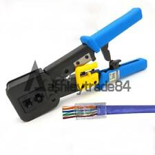 RJ45 Crimper RJ12 Cat5 Cat6 8p8c Cable Stripper Pressing Clamp Network Tools