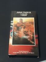 Star Trek II The Wrath Of Khan VHS French Version 1992 Malofilm