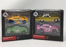 Disney Cars 3 Dinoco Cruz Ramirez & Chick Hicks, Tex Dinoco & Reb Meeker DieCast