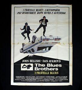 THE BLUES BROTHERS poster manifesto Landis John Belushi Dan Aykroyd Musical C80