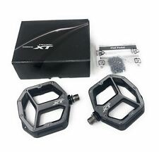 ALL NEW Shimano Deore XT PD-M8040 S/M Trail Flat Pedals MTB Bike Small/Medium