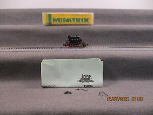 Minitrix N 12015 Dampflok Glaskasten Analog in OVP