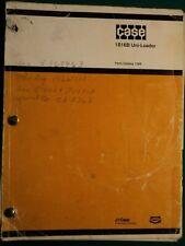Case 1816B Uni-Loader Parts Manual